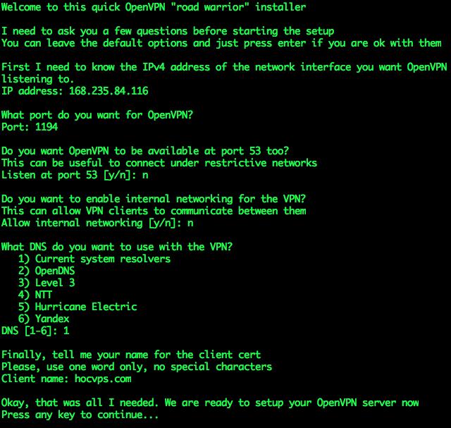 Setup-OpenVPN-Server1