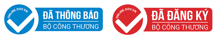 Đăng ký - thông báo Website với Bộ công thương